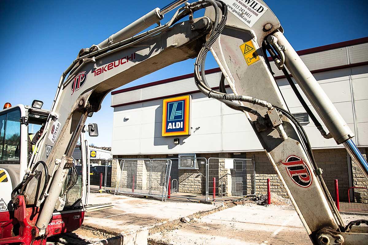 Aldi Unit 1 North valley Retail Park