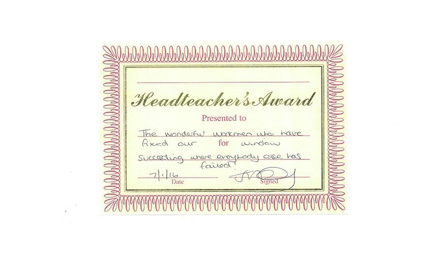 head award