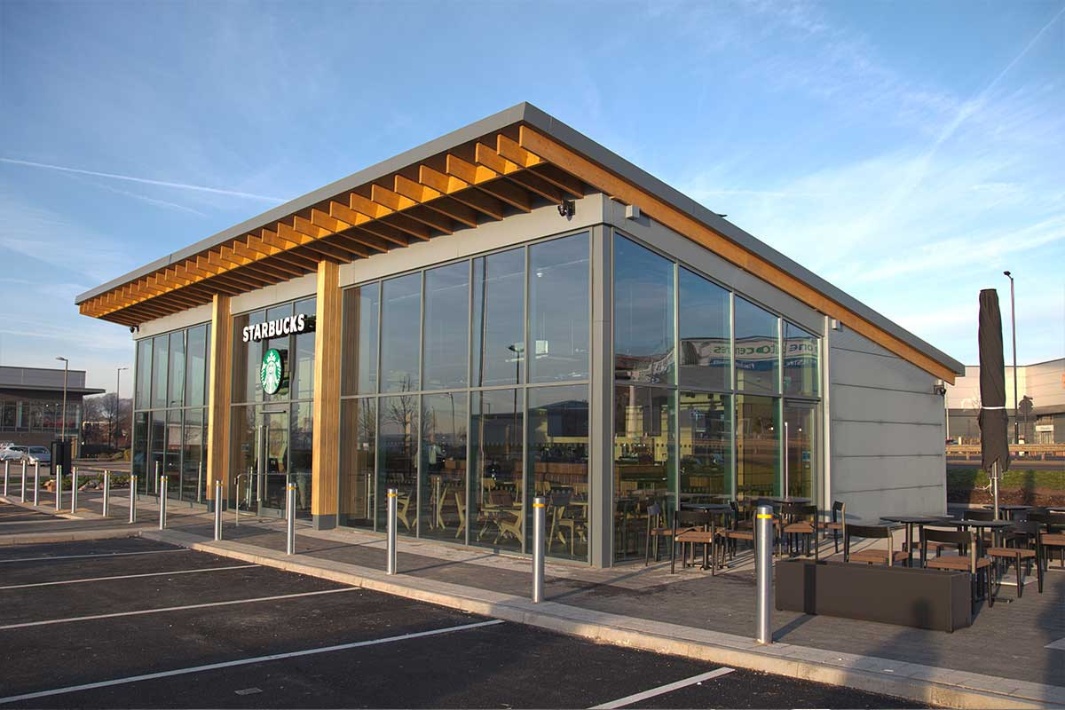 Starbucks Rotherham Foundry Retail Park