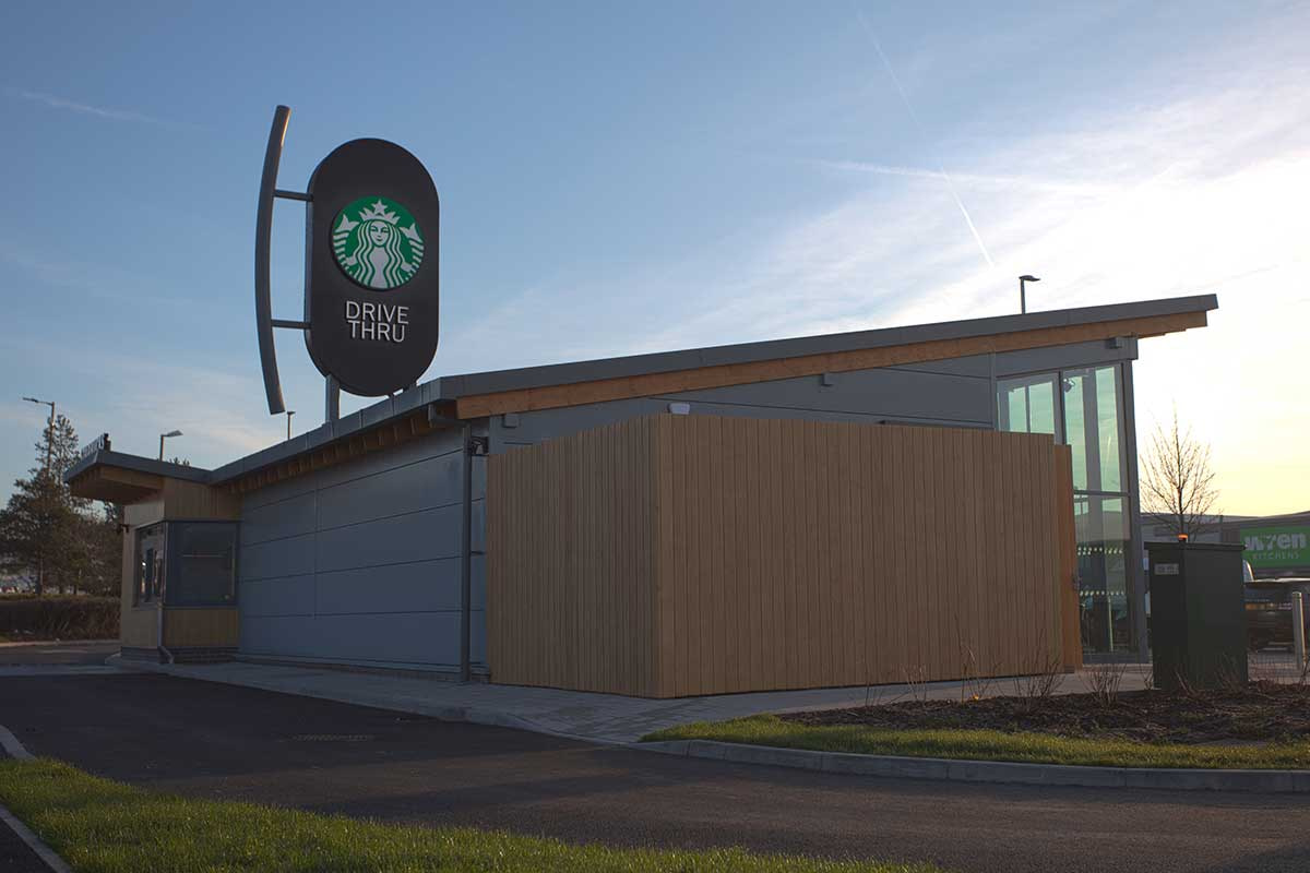 Starbucks Rotherham Foundry Retail Park 02