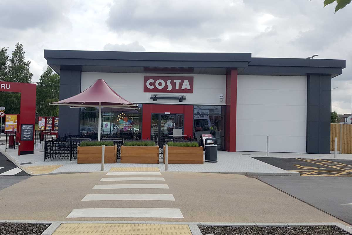 Costa Coffee Queens Shopping Park Stanley Street